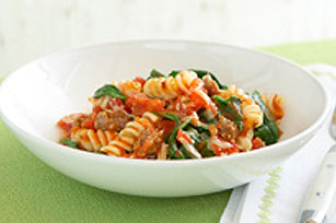 Tomato & Spinach Pasta Toss