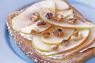 Rôtie aux poires et au sirop d'érable Image 1
