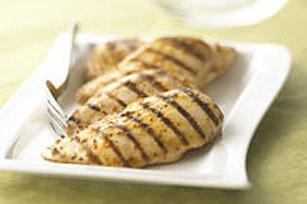 Poulet mariné grillé parfait