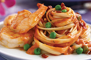Quick Shrimp & Linguine Image 1