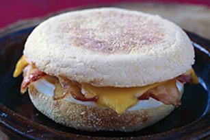 Sandwich à l'œuf ultra-rapide