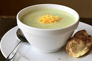 Broccoli and Cheddar Cheese Soup Image 1
