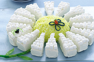 Gâteau Marguerite du printemps