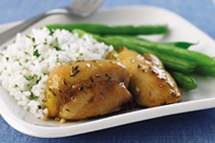 Herb-Glazed Chicken Thighs Image 1