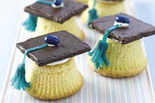 Petits gâteaux mortiers de graduation