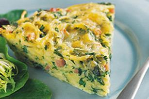 Tarte aux œufs et aux pâtes Image 1