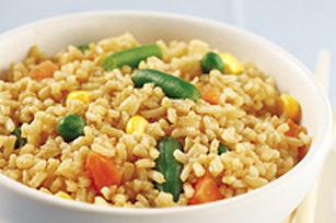 Bol de riz frit éclair Image 1