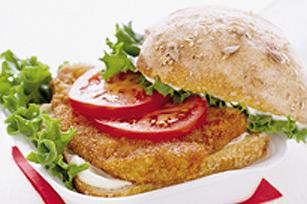 Sandwich au poulet croustillant cuit au four Image 1