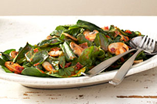 warm spinach salad spinach warm mushroom salad spinach salad with warm ...