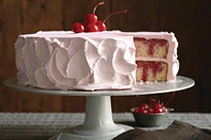 Gâteau à trous JELL-O à la cerise