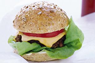 Burgers au fromage réinventés