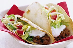 Tacos au bœuf minceur