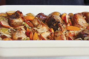 Recette facile de casserole de porc braisé