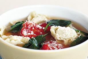 Soupe aux tortellinis