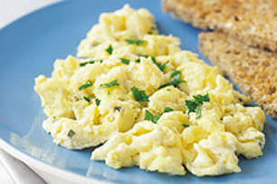Creamy Philly Scrambled Eggs Image 1