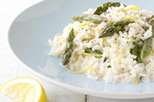 Creamy Lemon Asparagus Risotto