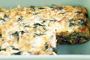 Casserole facile au fromage et aux œufs