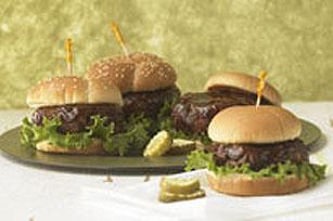 Cheesy Beef Burgers