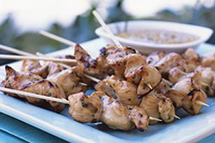 Brochettes de poulet au gril Image 1