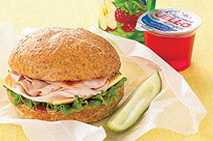 Simply Terrific Turkey BBQ Sandwich