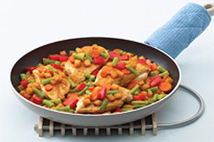 Poêlée de poulet au barbecue Image 1
