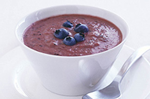 Blueberry Gazpacho