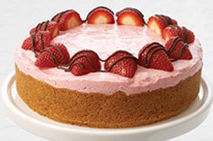 Gâteau crémeux aux fraises Image 1