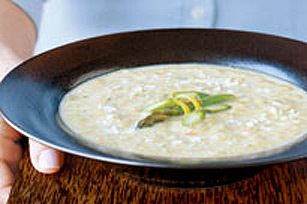No-Cream Asparagus Soup