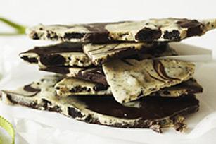 Écorce de chocolat aux biscuits