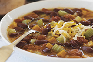 Cheesy Chili Soup