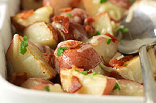 Roasted Red Potatoes with Bacon & Cheese