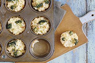 Coupes de riz et brocoli avec fromage Image 1