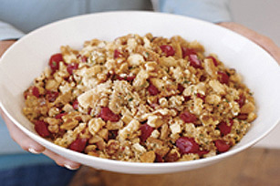 Cranberry and Toasted Walnut Stuffing Image 1