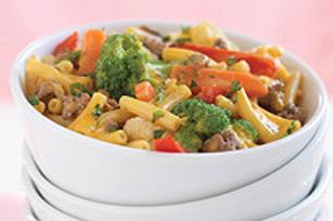 Casserole de bœuf, de légumes et de macaroni