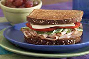 MIRACLE WHIP Turkey Caesar Sandwich Image 1