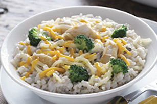 Creamy Chicken and Cheddar Rice Image 1