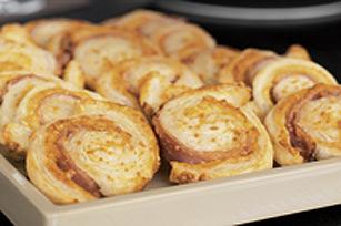 Cheese 'n Ham Spirals