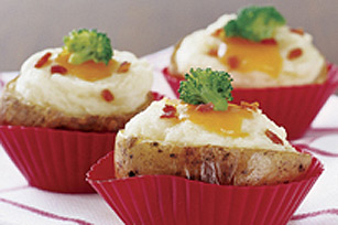 Cheesy Potato Cups