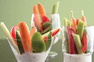 Légumes et trempette
