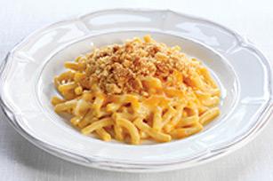 Macaroni et fromage au four dans un seul plat