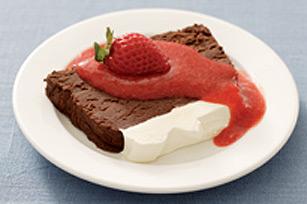Dessert truffé aux deux chocolats Image 1