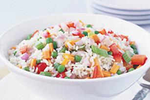 Plat facile de riz aux légumes Image 1