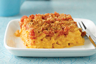 Macaroni au fromage à l'ancienne cuit au four