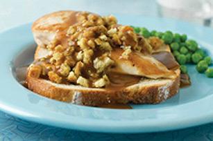 Sandwich au poulet en sauce Image 1