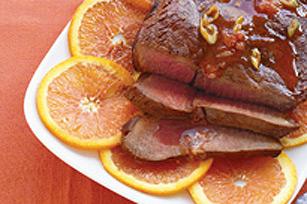Bifteck au poivre à l'orange Image 1