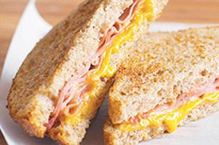 Sandwichs Monte Cristo au four