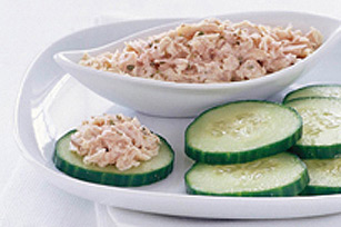 Tasty Tuna Salad & Cucumber Chips Image 1