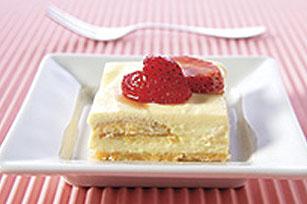 Carrés double vanille aux fraises Image 1