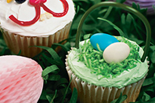 Easter Basket Cupcakes Image 1