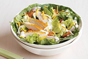 Salade minute au poulet BLT